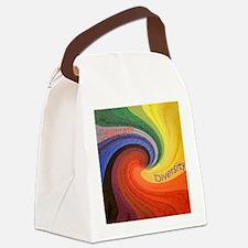Diversity square Canvas Lunch Bag