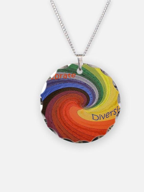 Diversity square Necklace