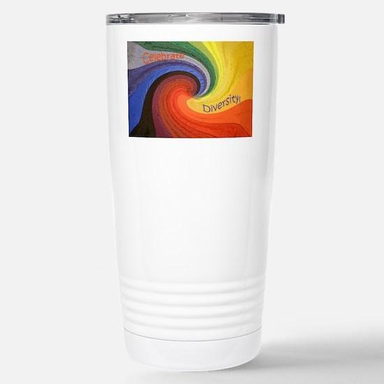 Diversity square Stainless Steel Travel Mug