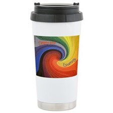 Diversity square Travel Mug
