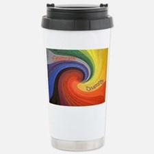 Diversity square Travel Mug