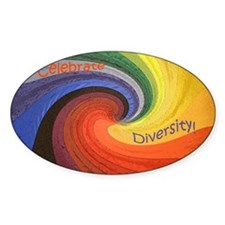 Diversity square Decal