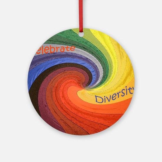 Diversity Round Ornament
