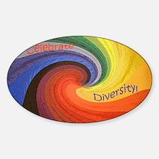 Diversity Sticker (Oval)