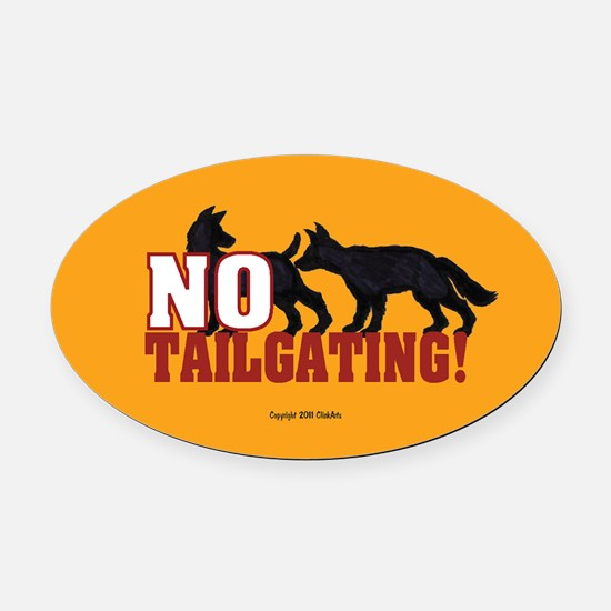 OTG 3 No tlgtg dogs Oval Car Magnet