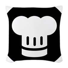 Chef Woven Throw Pillow