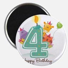 bigstock_Happy_Birthday_Candle_and_Anim_582 Magnet