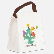bigstock_Happy_Birthday_Candle_an Canvas Lunch Bag