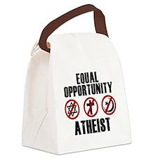 eqatheist Canvas Lunch Bag