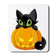 bigstock_Halloween_Black_Cat_9465668 Mousepad