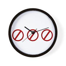 eqhereticdark Wall Clock