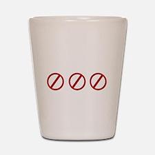 eqinfideldark Shot Glass