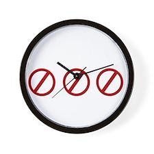 eqinfideldark Wall Clock