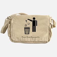litterthink2 Messenger Bag