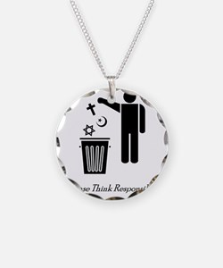 litterthink2 Necklace