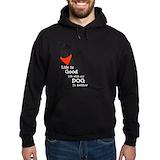 Dogs Dark Hoodies
