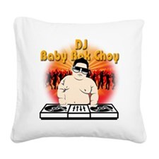BabyBokChoy Square Canvas Pillow