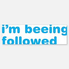 twitter-someone-is-following-me-c Bumper Bumper Sticker