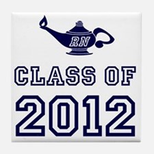 CO2012 RN Navy Tile Coaster