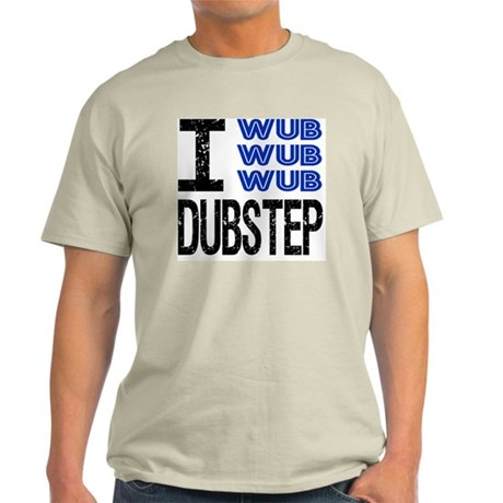 WUB DUBSTEP_blue Light T-Shirt