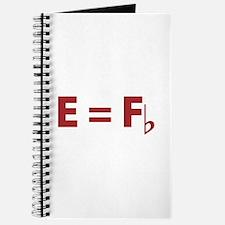 E Equals F Flat Journal