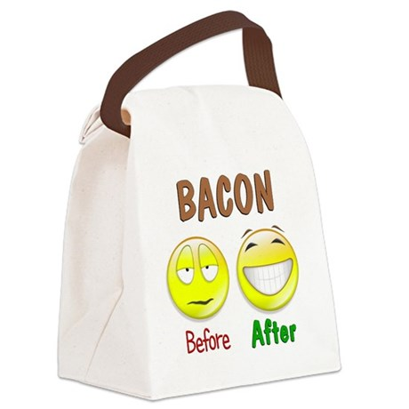 newbacon Canvas Lunch Bag