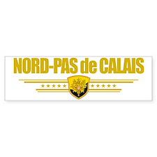 Nord-Pas de Calais (Flag 10) pock Bumper Sticker