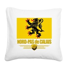Nord-Pas de Calais (Flag 10) Square Canvas Pillow