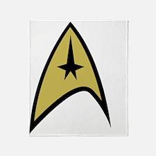 Star Trek Emblem Throw Blanket