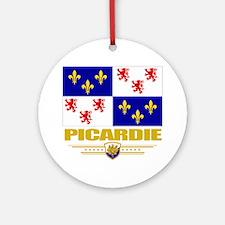 Picardie (Flag 10) Round Ornament