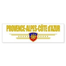 Provence-Alpes-Cote (Flag 10) poc Bumper Sticker