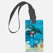 cezanne blue vase no poster Luggage Tag