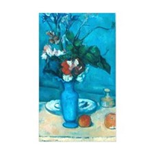 cezanne blue vase no poster Decal