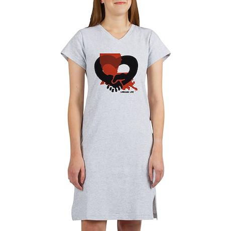 louisiana-love-B Women's Nightshirt