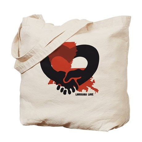 louisiana-love-B Tote Bag