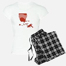 Louisiana-love-W Pajamas