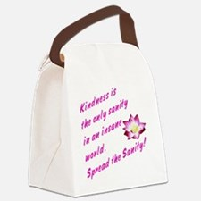 kindness1 Canvas Lunch Bag