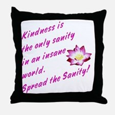 kindness1 Throw Pillow