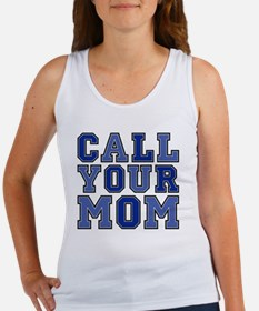 call your mom pillow Women's Tank Top