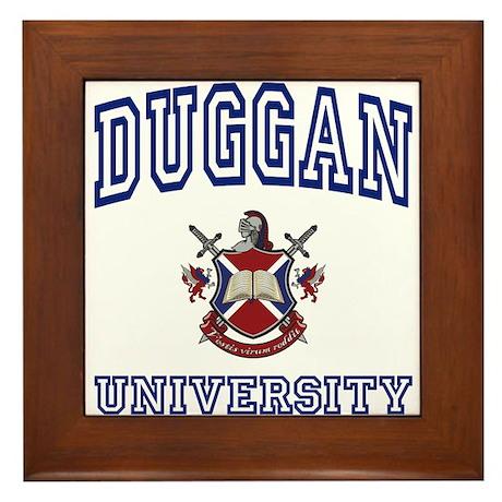 DUGGAN University Framed Tile