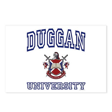 DUGGAN University Postcards (Package of 8)
