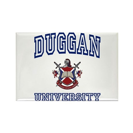 DUGGAN University Rectangle Magnet (100 pack)