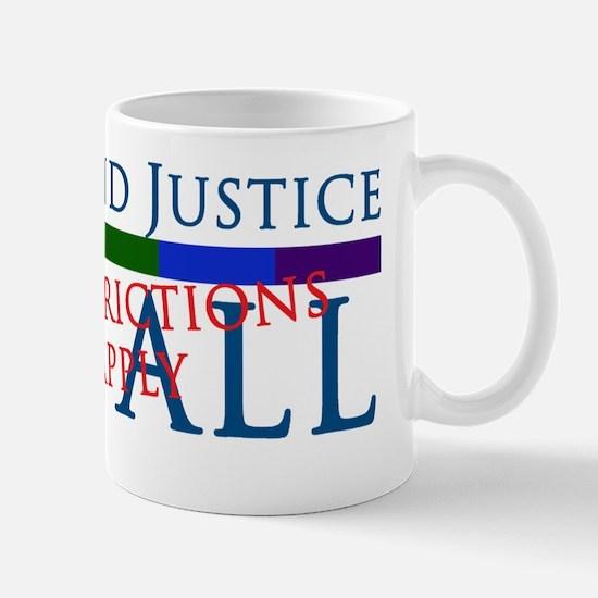 Justice For All Magnet Mug