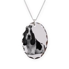 Basset Hound Puppy A4 Necklace