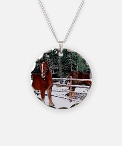 Horses Necklace