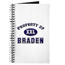 Property of braden Journal