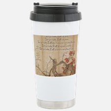 reiki principles plum tree LARG Travel Mug