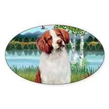 LIC-Birches-BrittanySpaniel Decal