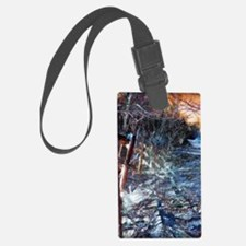 Dark Luminosity Luggage Tag