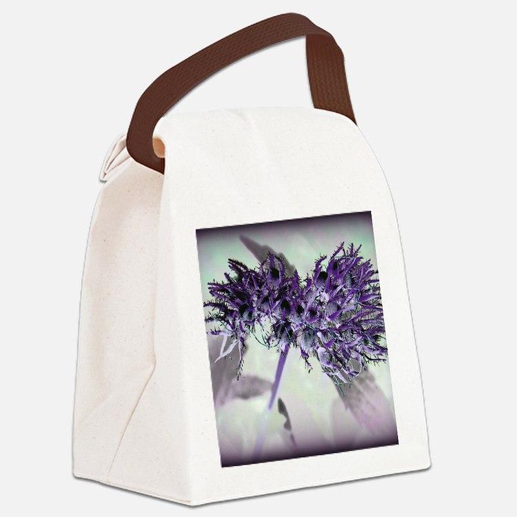 Purple Passion Canvas Lunch Bag